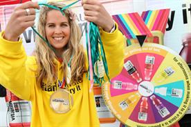 Glaceau Vitaminwater: Sense ran medal promotion work around the Olympics