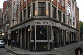 The history of advertising No 1: The Ivy restaurant