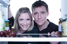 Lisa Faulkner and Ben Shephard: hosts of What's Cooking? From the Sainsbury's Kitchen