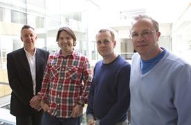 Ivan Palmer, Peter Jones, Grey's Chris Hirst and Ben Corah