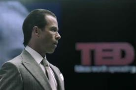 Prometheus: Guy Pearce as Peter Weyland delivers his 2023 TED address