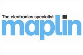 Maplin: returns to TV advertising