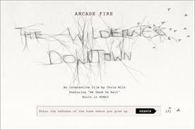 Arcade Fire: online work wins Grand Prix for Google Creative Lab