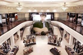 Burberry Regent Street: new store incorporates multimedia interactivity