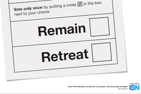 Final referendum activity sees clarion call for British grit... and satirical tattoo parlour
