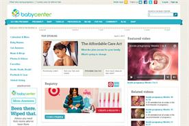 BabyCentre: commissions digital usage report