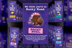 Cadbury's Joy Generator: dispenses chocolate bar based on Facebook profile