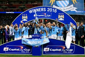 Around 3.7m people watched Manchester City win this season's Capital One Cup