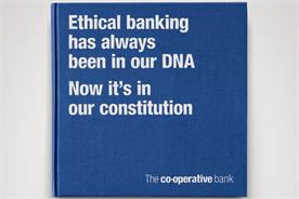 Co-op Bank: runs ads in national papers