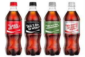 Coke prints lyrics on cans so consumers can Shazam their karaoke skills