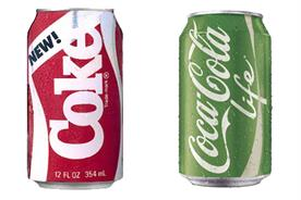Coca-Cola: brand extensions from New Coke to Coca-Cola Life