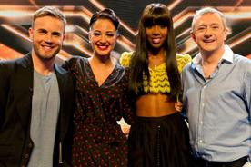 The X Factor: judges Gary Barlow, Tulisa Contostavlos, Kelly Rowland and Louis Walsh