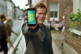 EE: Kevin Bacon stars in the brand's TV campaign