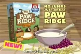 Paw Ridge: PepsiCo drops children's breakfast cereal range