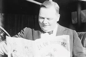History of advertising: No 150: Maynard Nottage and Fatty Arbuckle
