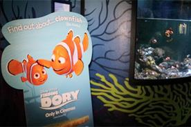 Watch: Disney's record-breaking Finding Dory partners with Sea Life