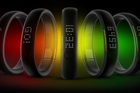 Nike FuelBand: allows users to monitor their activity levels
