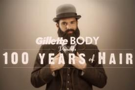 Gillette '100 years of hair' by Grey London