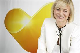 Harriet Green: the Thomas Cook chief executive with the group's new logo