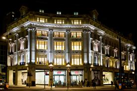 H&M: Oxfrord Circus store, London
