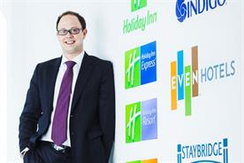 David Collyer: appointed UK marketing director at IHG