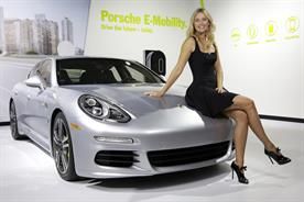 Maria Sharapova and Porsche: the car manufacturer has sponsored Maria and Friends tournaments