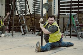 Moneysupermarket: unveils latest ad, featuring a pole dancing builder