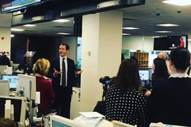 George Osborne: named editor of the London Evening Standard
