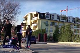 Red Bull has sent students hitchhiking across Europe