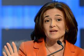 Sheryl Sandberg: chief operating officer of Facebook (picture credit: Michael Wuertenberg, copyright: World Economic Forum)