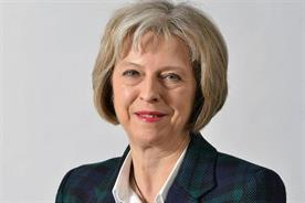 Theresa May: UK PM named the creative industries as one of five key industrial sectors
