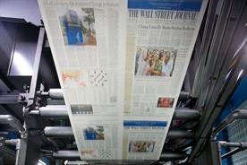Wall Street Journal goes back to broadsheet in Europe and Asia