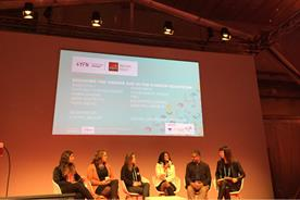 The Women4Tech panel session at MWC