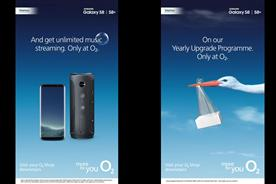 O2: runs outdoor radio campaign
