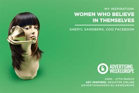 Ad Week Europe: facebooks Sheryl sandberg features in print campaign