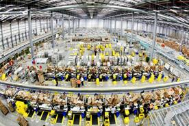 Many of the new Amazon jobs will be in fulfilment centres