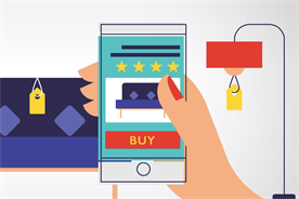 """""""M-commerce is expected to grow to $693.4bn by 2019"""" (source: Criteo)"""