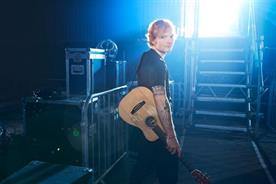 Ed Sheeran: stars in O2  'walk' campaign