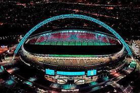 EE: lights up Wembley Stadium