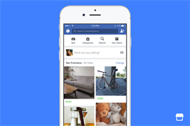 Facebook enters online marketplace sector