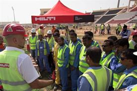 Fifa: a safety day held at Qatar's Al Wakrah Stadium, one of the World Cup venues