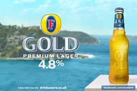 Foster's Gold: one of the seven brands to get its NPD strategy right