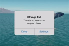 Google Photos ad cheekily references limited iPhone storage