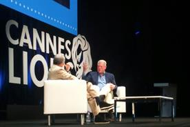 Sorrell makes climate change pledge to Al Gore in Cannes