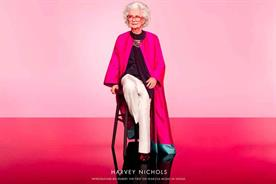 Harvey Nichols has embraced age as an asset