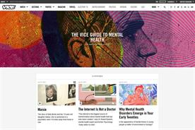 Vice: launches online guide to mental health