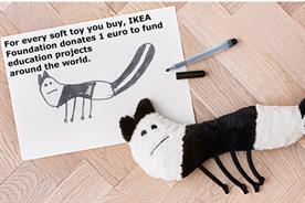 Ikea: retailer has turned kids' illustrations into cuddly toys for charity