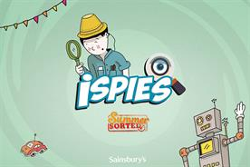 Sainsbury's: created iSpies app to entertain kids on summer hols