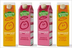 Innocent: unveils its Extra Juicy Smoothie range