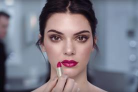 Kendall Jenner: in Estee Lauder's Pure Color Envy campaign
